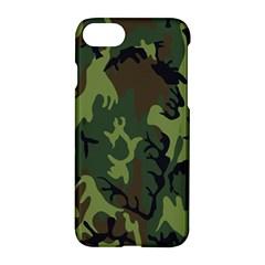 Military Camouflage Pattern Apple Iphone 7 Hardshell Case