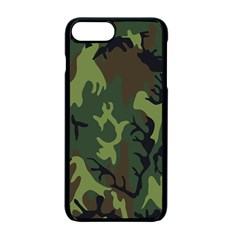 Military Camouflage Pattern Apple Iphone 7 Plus Seamless Case (black) by BangZart