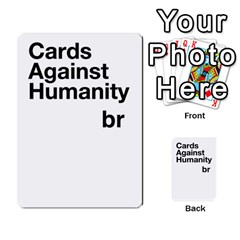 Cah2 By Biasaka   Playing Cards 54 Designs (rectangle)   Lf2aruqxqy70   Www Artscow Com Back