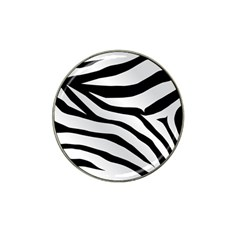 White Tiger Skin Hat Clip Ball Marker (4 Pack) by BangZart