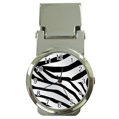 White Tiger Skin Money Clip Watches by BangZart