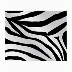 White Tiger Skin Small Glasses Cloth (2 Side) by BangZart