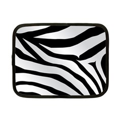 White Tiger Skin Netbook Case (small)