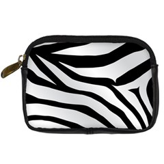 White Tiger Skin Digital Camera Cases by BangZart