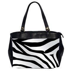 White Tiger Skin Office Handbags (2 Sides)