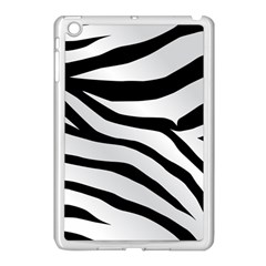 White Tiger Skin Apple Ipad Mini Case (white)