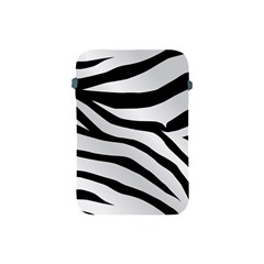 White Tiger Skin Apple Ipad Mini Protective Soft Cases by BangZart