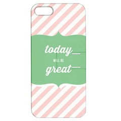 Today Will Be Great Apple Iphone 5 Hardshell Case With Stand