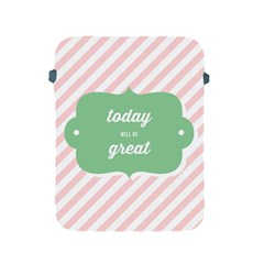 Today Will Be Great Apple Ipad 2/3/4 Protective Soft Cases by BangZart