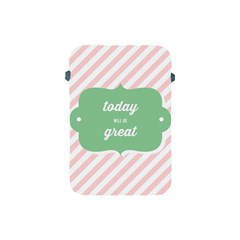 Today Will Be Great Apple Ipad Mini Protective Soft Cases by BangZart