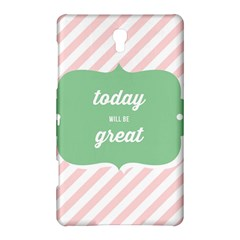 Today Will Be Great Samsung Galaxy Tab S (8 4 ) Hardshell Case  by BangZart