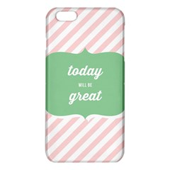 Today Will Be Great Iphone 6 Plus/6s Plus Tpu Case by BangZart