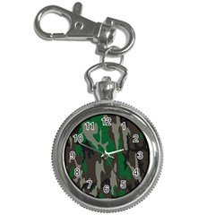 Army Green Camouflage Key Chain Watches by BangZart