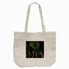 Army Green Camouflage Tote Bag (cream) by BangZart