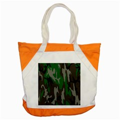 Army Green Camouflage Accent Tote Bag by BangZart