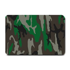 Army Green Camouflage Small Doormat