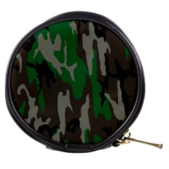 Army Green Camouflage Mini Makeup Bags