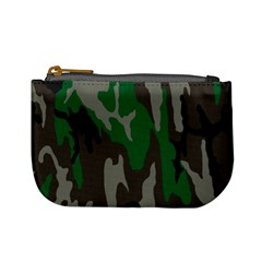 Army Green Camouflage Mini Coin Purses