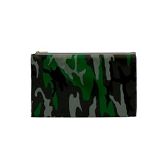 Army Green Camouflage Cosmetic Bag (small)  by BangZart