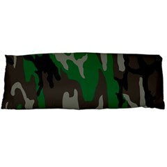 Army Green Camouflage Body Pillow Case (dakimakura)