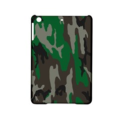 Army Green Camouflage Ipad Mini 2 Hardshell Cases