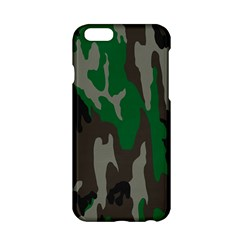 Army Green Camouflage Apple Iphone 6/6s Hardshell Case
