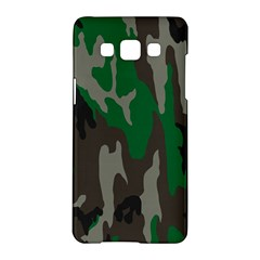 Army Green Camouflage Samsung Galaxy A5 Hardshell Case