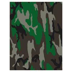 Army Green Camouflage Drawstring Bag (large) by BangZart