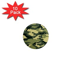 Camouflage Camo Pattern 1  Mini Magnet (10 Pack)  by BangZart
