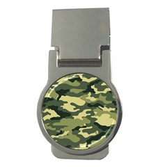 Camouflage Camo Pattern Money Clips (round)