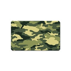 Camouflage Camo Pattern Magnet (name Card) by BangZart