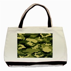 Camouflage Camo Pattern Basic Tote Bag by BangZart