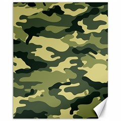 Camouflage Camo Pattern Canvas 11  X 14