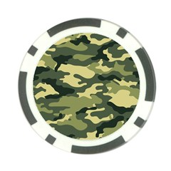 Camouflage Camo Pattern Poker Chip Card Guard (10 Pack) by BangZart