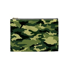 Camouflage Camo Pattern Cosmetic Bag (medium)  by BangZart