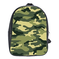 Camouflage Camo Pattern School Bags(large)  by BangZart