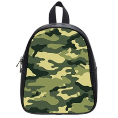 Camouflage Camo Pattern School Bags (small)  by BangZart