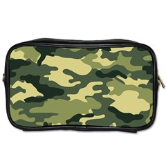Camouflage Camo Pattern Toiletries Bags by BangZart