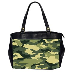 Camouflage Camo Pattern Office Handbags (2 Sides)