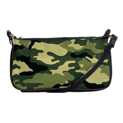 Camouflage Camo Pattern Shoulder Clutch Bags by BangZart