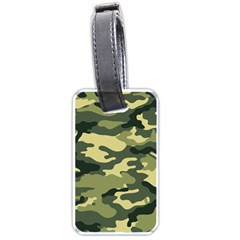 Camouflage Camo Pattern Luggage Tags (one Side)