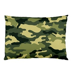 Camouflage Camo Pattern Pillow Case (two Sides) by BangZart