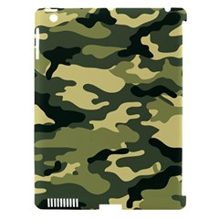 Camouflage Camo Pattern Apple Ipad 3/4 Hardshell Case (compatible With Smart Cover) by BangZart