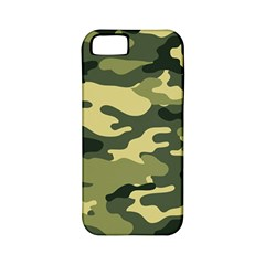 Camouflage Camo Pattern Apple Iphone 5 Classic Hardshell Case (pc+silicone) by BangZart