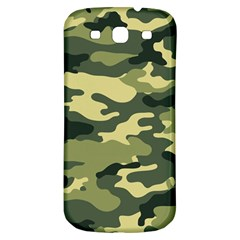 Camouflage Camo Pattern Samsung Galaxy S3 S Iii Classic Hardshell Back Case by BangZart