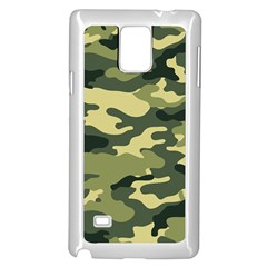 Camouflage Camo Pattern Samsung Galaxy Note 4 Case (white) by BangZart