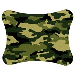 Camouflage Camo Pattern Jigsaw Puzzle Photo Stand (bow)