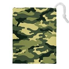 Camouflage Camo Pattern Drawstring Pouches (xxl) by BangZart