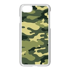 Camouflage Camo Pattern Apple Iphone 7 Seamless Case (white) by BangZart
