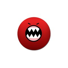 Funny Angry Golf Ball Marker (10 Pack) by BangZart